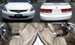 2003 Honda Accord Sdn EX-L w/ Navigation To Reply: �Click Here� Make: Honda Model: Acord Sub Model: EX-L w/ Navigation Mileage: 91,956 VIN: 1HGCM66813A096075 Fuel: Gasoline Engine: 3.0L V6 Cylinde Exterior Color: White Transmission: Automatic Drivetrain: