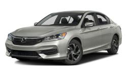 2016 Honda Accord LX - $23,840 4-Wheel Disc Brakes, 5-Passenger Seating, Am/Fm, Adjustable Steering Wheel, Air Conditioning, All-Season Tires, Alloy Wheels, Anti-Lock Brakes, Anti-Theft System, Automatic Headlights, Aux Audio Adapter, Braking Assist,