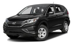 2016 Honda CR-V LX - $25,945 4-Wheel Disc Brakes, 5-Passenger Seating, Am/Fm, Adjustable Steering Wheel, Air Conditioning, All-Season Tires, Anti-Lock Brakes, Automatic Headlights, Aux Audio Adapter, Braking Assist, Bucket Seats, Cd (Single Disc), Child