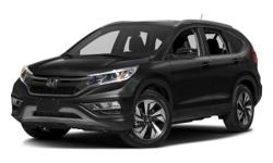 2016 Honda CR-V Touring - $34,295 4-Wheel Disc Brakes, 5-Passenger Seating, Am/Fm, Adaptive Cruise Control, Adjustable Steering Wheel, Air Conditioning, All-Season Tires, Alloy Wheels, Anti-Lock Brakes, Anti-Theft System, Auto-Dimming Mirror, Automatic