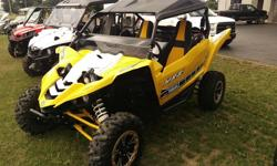 . 2016 Yamaha YXZ 1000R SE $13999 Call (716) 391-3591 ext. 1321 Pioneer Motorsports, Inc. (716) 391-3591 ext. 1321 12220 OLEAN RD, CHAFFEE, NY 14030 This YXZ 1000 SE has half windshield and radiator relocation kit! Engine Type: DOHC Inline three-cylinder;
