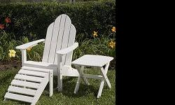 Huge Quality Adirondack Chair & Furniture Selection! Fast & Free Shipping on almost everything! Save up to 55%! Adirondack Chairs Wood Adirondack Chairs Painted Adirondack Chairs Recycled Plastic Adirondack Chairs Cedar Adirondack Chairs Teak Adirondack