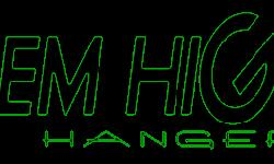 shop.hangemhigh.net www.hangemhigh.net   $20 off your order when you buy 4 or more guitar hangers. Use code 20OFF4ORMORE   The HANG'em HIGH Angled Guitar Hanger is a patented design made of a two-piece system that is mounted on the wall so you can proudly