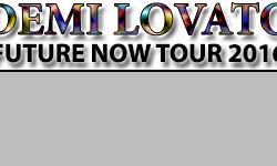 Demi Lovato 2016 Future Now Tour Concert in Buffalo Concert Tickets for First Niagara Center on July 17, 2016 Demi Lovato, Nick Jonas & Mike Posner will perform a concert at the First Niagara Center in Buffalo, New York. The Demi Lovato & Nick Jonas