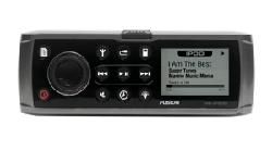 Marine Stereo For iPodMS-IP600Delivering a new modern styling and enhanced remote bus technology, the 600 series is an evolution on the award winning features found in the 500 series. Incorporating an intelligent user memory, FUSION's latest Alpha Search