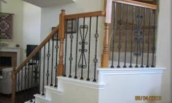 Welcome to Baluster Store, we sell high quality powder coated iron balusters / spindles for stair railing, balconies and more for more information please visit our online store at http://www.balusterstore.com/ iron balusters iron stair parts iron stair