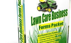 "Lawn Care Business Forms Packet Six Essential Forms to Help You Grow, Formalize and Organize Your Lawn Maintenance Business Lawn Maintenance Business FORMS PACKET (Six Essential Forms), Electronic PDFs ""I want to say thank you. Every aspect of my company"